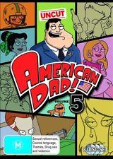 American Dad : Season 5 (DVD, 2010, 3-Disc Set) REGION 2