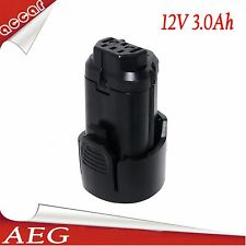 Battery For AEG 12V 3.0Ah Li-Ion L1215 L1215P L1215R Pro BS12C2 BSS12C sydney AU
