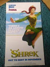 SHREK (Cameron Diaz, Mike Myers, Eddie Murphy) 2001 Movie Poster