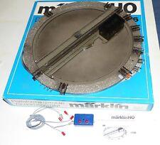 Märklin 7186 Drehscheibe mit Schalter OVP funktionstüchtig H0