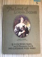 The Land of Lorna Doone, H. Snowden Ward, Sampson Low , Vintage Hardback