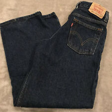 Levi's 550 Relaxed Fit Boys Size 10 Dark Denim Jeans