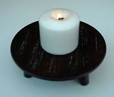 Candle Stick Tea Light Holder Wooden Chinese Style Tripod or Plant Pot Stand New