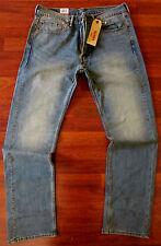 LEVI'S 505 Straight Leg Jeans Men Size 36 X 36 Vintage Distressed Wash