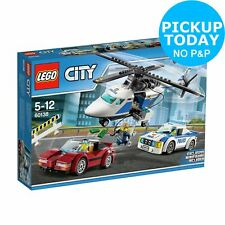 LEGO City Police High Speed Chase Car Helicopter Toy - 60138