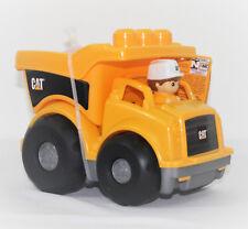 Mega Bloks Cat Kipplaster, Mega Blok Lastwagen