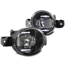 CHROME BUMPER LED FOG LIGHT LAMP FOR SENTRA MAXIMA ALTIMA M35 G37 LEFT+RIGHT SET