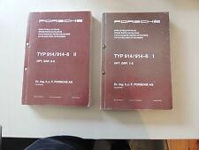 Porsche 914 1970-1976 Ersatzteilkatalog Parts catalogue Catalogue de pieces
