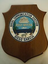 United States Navy plaque naval US DIEGO GARCIA NAVAL COMMUNICATIONS CENTRE