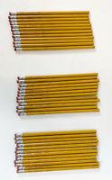 Vintage 1997 Sanford Integrity Real Wood Pencils No 2 USA ~ Lot Of 36~ NOS