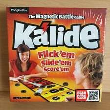 Kalide The Magnetic Battle Game Flick'em Slide'em Score'em Brand New Sealed