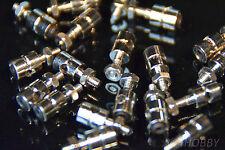 20 Gestänge-Anschluss 11x1mm Zugstab 90° Verstellbar Modellbau RC Gewinde-Halter
