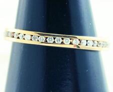 Diamond Eternity Yellow Gold 14k Fine Rings