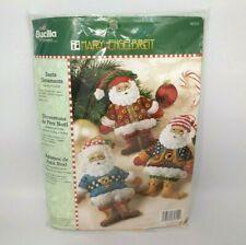 Bucilla Kit - Mary Engelbreit - Santa Ornaments - #85310 Christmas Craft