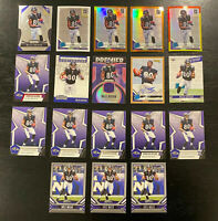 Miles Boykin 2019 Rookie Lot 18 Cards~Inserts++ Jersey/Patches/Auto SP Ravens RC
