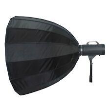 35in/89cm Deep Parabolic Umbrella Softbox 16 Rib Bowens Type Mount Photo Flash