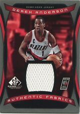 2004-05 SP Game-Used Edition Derek Anderson Authentic Fabrics Trail Blazers