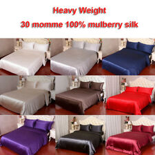 1pc 30 Momme 100% Mulberry Silk Duvet Comforter Quilt Doona Cover Sisters-Silk