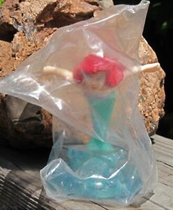 """1990 Applause Disney Little Mermaid Ariel Jumping out of the water 3+"""" PVC MIP"""