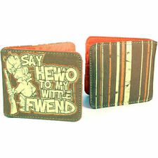 Retro Bifold Wallets for Men