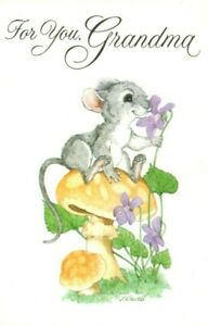 Happy Mother's Day Grandma Mouse Powell Greeting Card By American Greetings