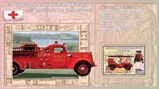 Fire Brigade Engines II (Boyer Willys Jeep) Congo DR s/s (6) MNH #CDR0710f