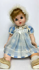 "25"" Vintage Toodles American Character Baby doll with Peek-A-Boo Eyes"