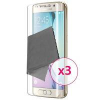 3X Films de protection Galaxy S6 Edge+ / Plus Clubcase ® TPU 3H Full Cover HD