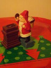 Santa Claus Mechanical Coin Bank, cast iron