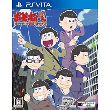 Osomatsu-san The Game Hachamecha Shuushoku  PS Vita SONY PLAYSTATION JAPANESE