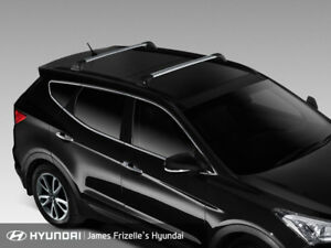Genuine Hyundai DM Santa Fe Whispbar Quiet Roof Racks Cross Bar Set AL1002W000