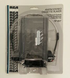 RCA Stereo Cassette Player Portable Walkman Style  RP-1817 AM / FM  New Sealed