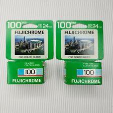 Vintage Fuji Film Fujichrome RD135-24 100 Speed Color Slide Film (2 packs)