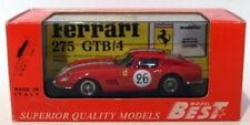 Voitures des 24 Heures du Mans miniatures rouge Ferrari