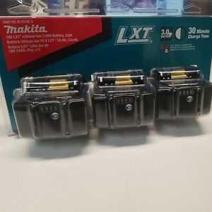 [3 PACK] *NEW & SEALED* Makita BL1830B-3 18V LXT 3.0 AH Lithium-Ion Battery