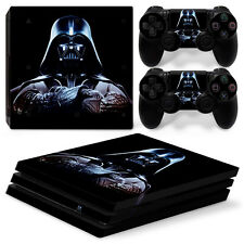 Sony PS4 Pro Console and Controller Skins /Decal--Star Wars Darth Vader (P-0036)