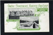 Bundoran Hotel - Great Northern Railway (Ireland), Donegal, Ireland.  Two views.