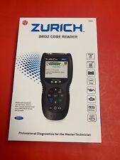 ZURICH OBD2 Automotive Diagnostic Code Reader & Scanner ZR-11