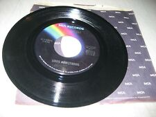 LOUIS ARMSTRONG HELLO DOLLY! / BLUEBERRY HILL 45 NM MCA-60013 1973