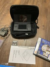 Nintendo DS Lite Console Black with Charger Stylus And Two Games