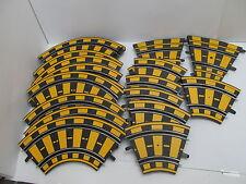MES-48053Carrera Car Racing 21 St. Bahnteile mit Gebrauchsspuren,