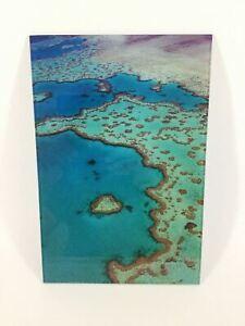 Heart Reef Photograph Print on Acrylic AU Sellers 30cm x 20cm Great Gift Idea