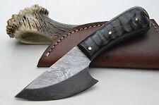Skinner Widderhorn Häutemesser Damastmesser Jagdmesser Messer damascus knife #7