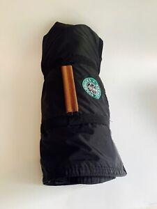 Starbucks Coffee, Travel Stadium Blanket, Roll Up Picnic Blanket, Handle, Fleece