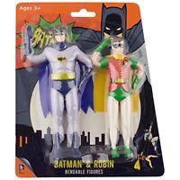 DC Comics Batman and Robin Bendable Figure