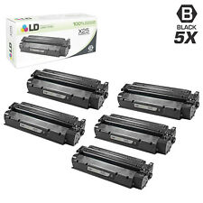 LD Remanufactured Canon X25 / 8489A001AA Set of 5 Black Toner Cartridges