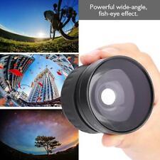 58mm Wide Angle Fisheye Lens Universal for Canon/Nikon/Sony/Minolta/Olympus Cam