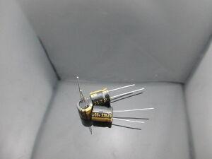 2PCS Nichicon KW 330uf 35v 330mfd audio Capacitor caps 10mm * 12.5mm