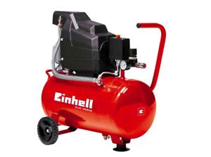 EINHELL Compressore coassiale aria 8 bar manometro 160 lt/min 24 Lt 4007325