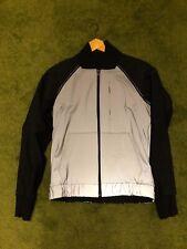 Lululemon Bright Bomber Jacket Reflective Silver Black Size 6